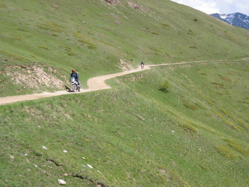 Assietta Kam Route. Machtige piste