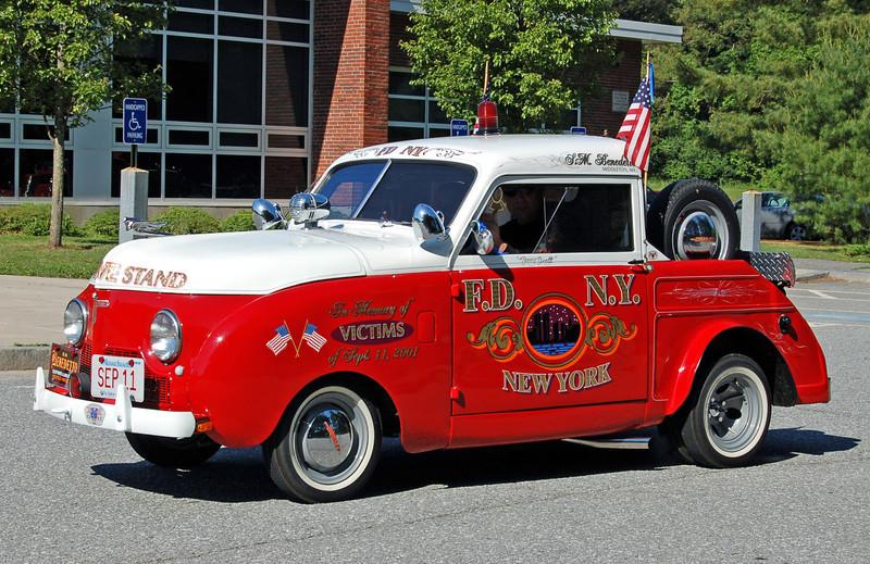 9/11 Tribute Car