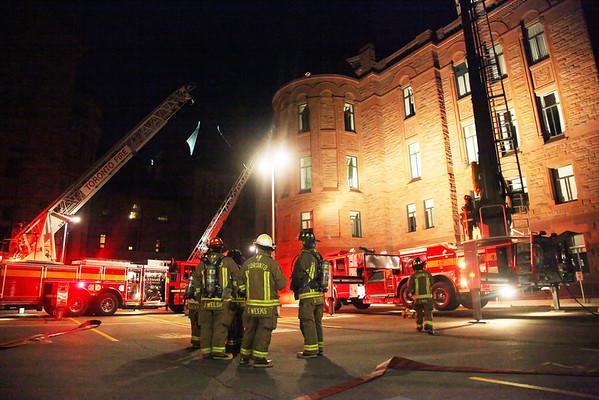 October 11, 2009 - 2nd Alarm - 111 Wellesley St. West