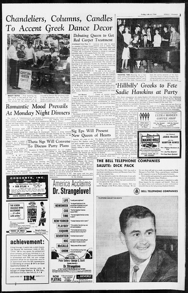 Daily Trojan, Vol. 55, No. 67, February 21, 1964