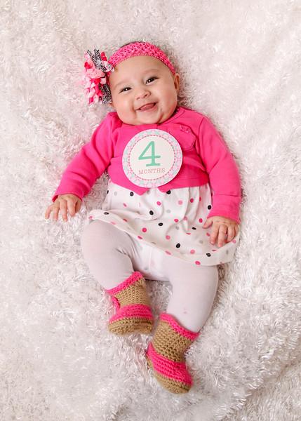 Hazlie 4 months