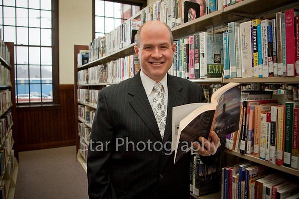 Progress Josh Smith at the Public Library  02-24-10