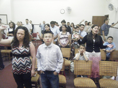 Iglesia Nuevo Renacer, que pastorea David Ramirez en Carolina del Norte