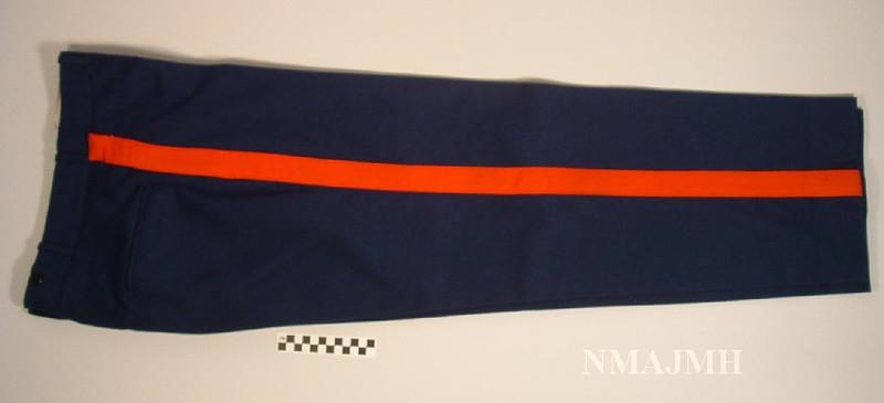 Jacob Joseph Mirsky's WWII USMC Dress Blues Pants
