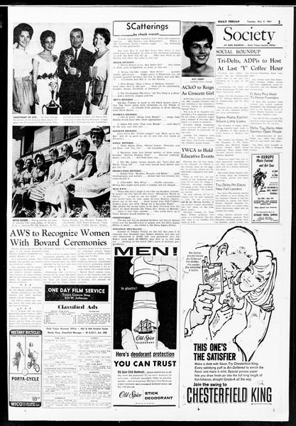Daily Trojan, Vol. 52, No. 117, May 02, 1961
