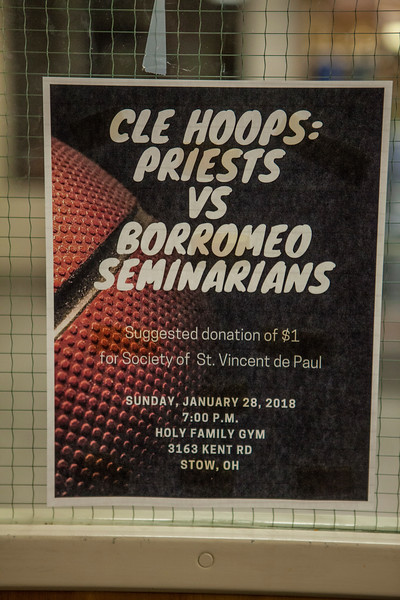 Priests vs Borromeo Seminarians