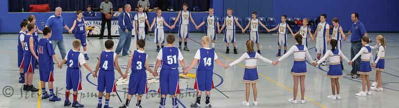 2012 Cheer at Boys BB vs OLPH