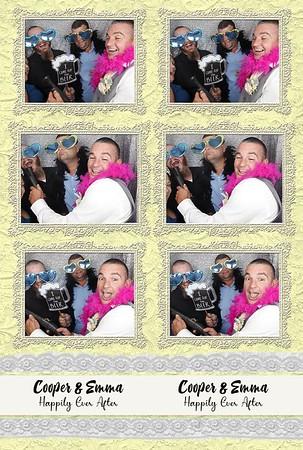Emma & Cooper Wedding Photostrips