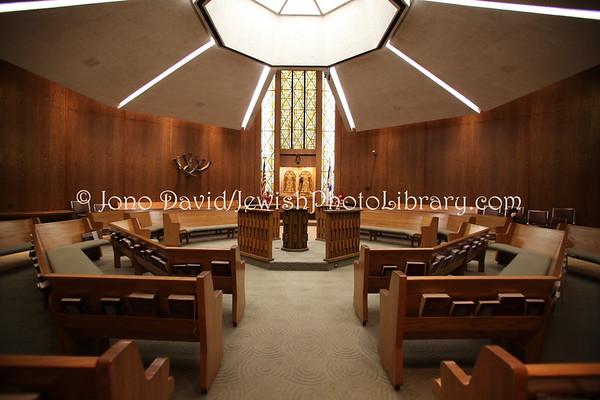 USA, California, Los Angeles. Sinai Temple. (3.2012)