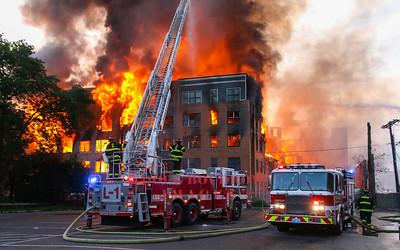 Waltham, MA - 8th Alarm, 169 Elm Street, 7-23-17