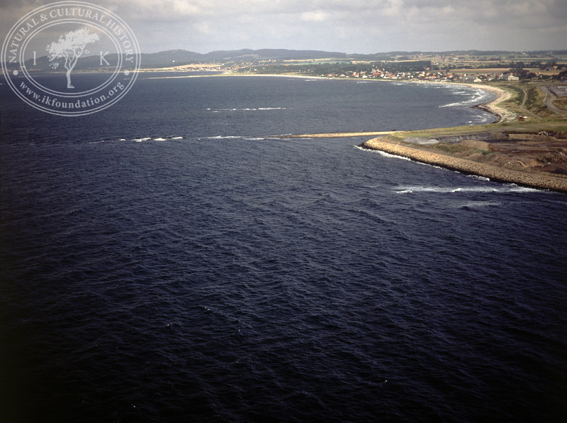 Höganäs, strip of shore to the north (1990) | PH.0067