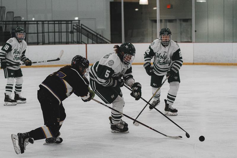 Holy Family Varsity Girls Hockey vs. Waconia, 1/9/20: Briar Charchenko '22 (5)