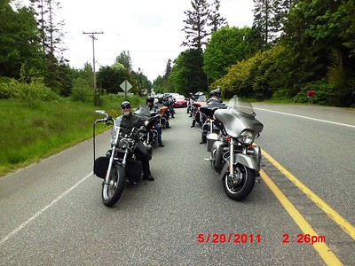 Breakfast Ride to Purdy & Ice Cream In Port Townsend 5-29-11