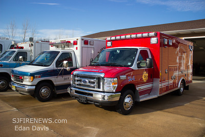 Norma Alliance Rescue Squad 24, (Salem County) New Ambulance 24-8