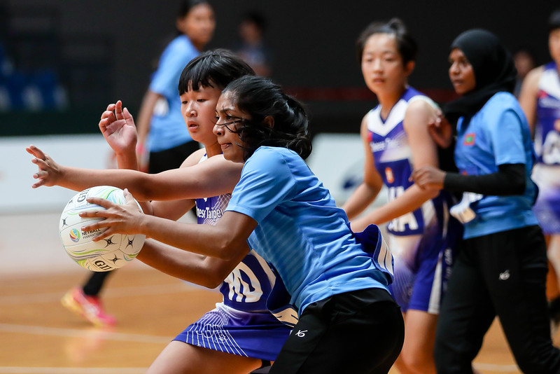 M1 Asian Netball Championships 2018 - Maldives Vs Chinese Taipei