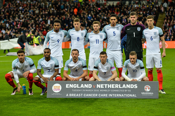 2016 March 29 - England vs Netherlands
