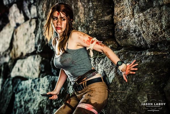 Tomb Raider Cosplay Photoshoot