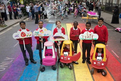 20/06/19 - Great Ormond 'Play Street' for Clean Air Day