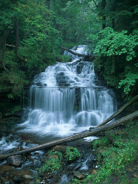 Wagner Falls Near Munising, MI