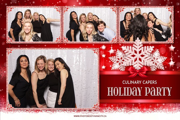 Staff Holiday Party For Culinary Capers