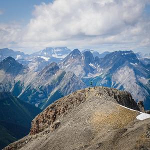 2015-07-05 Burstall Pass / Snow Peak
