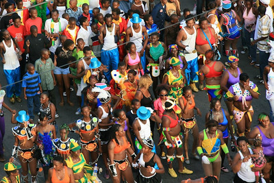 Vincy Mass Carnival, St Vincent, August 2010