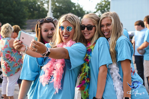 Kossuth's Class of 2018 - First Day