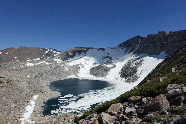 Kuna Crest - Mammoth Peak [x2 (12,117)], Pk 12,170 (aka Kuna Crest North), Pk 12,090 - July 3, 2016