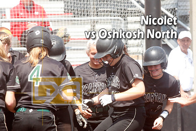 D1 StateQ - Nicolet vs Oshkosh North SB19