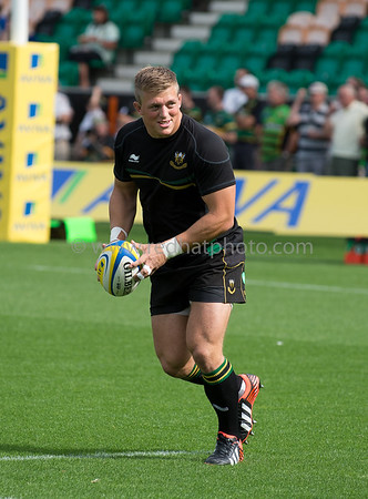Northampton Saints vs Exeter Chiefs, Aviva Premiership, Franklins Gardens, 9 September 2012