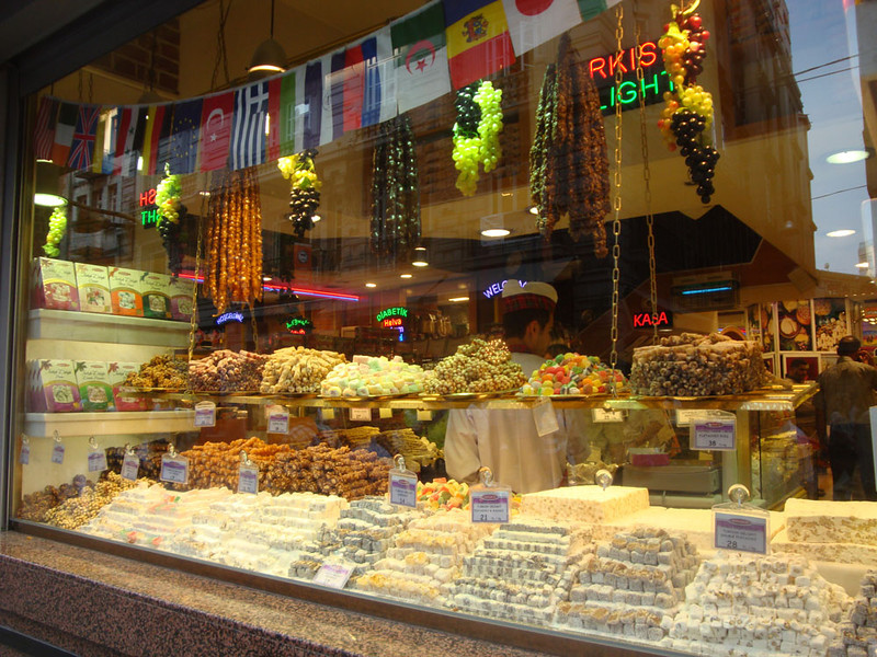 It was, however, very exciting to see the Turkish delight on sale everywhere :) Some was even vegan!
