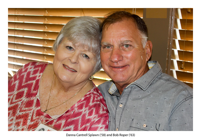 Danna Cantrell Splawn '58 and Bob Roper '63.jpg