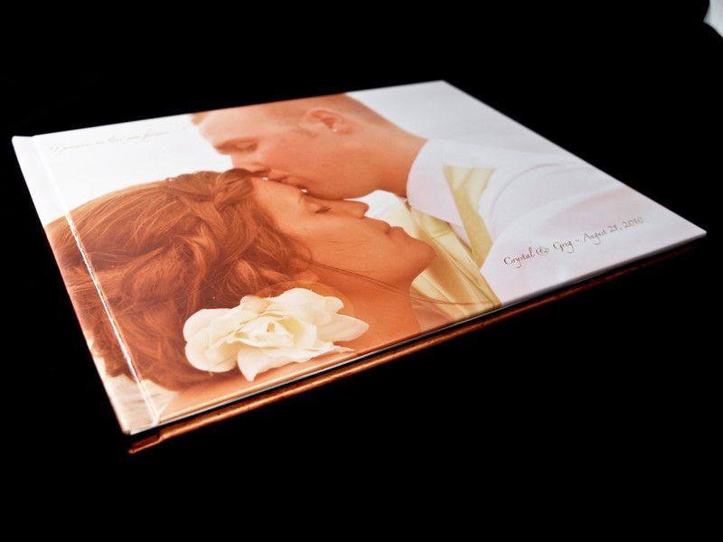 Hardbound Wedding Album