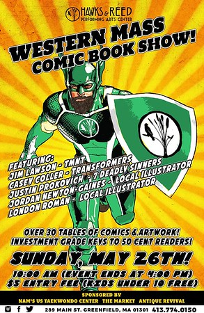 2019 Western Mass Comic Book Show