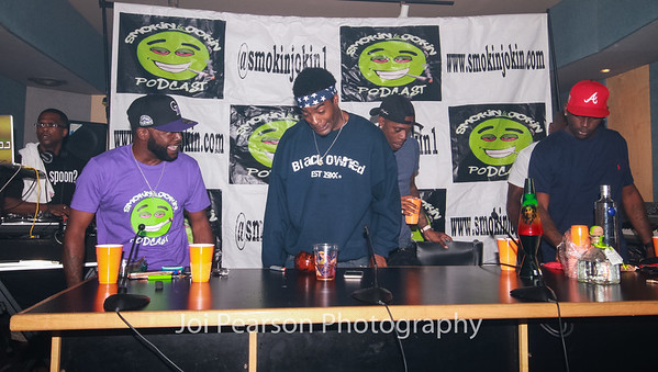 Smokin & Jokin with Rich Homie Quan and Lil Donald hosted by Tatu Hill, Cory Blackowned Cbone Andrews, Duke Dixon and Pele Dec