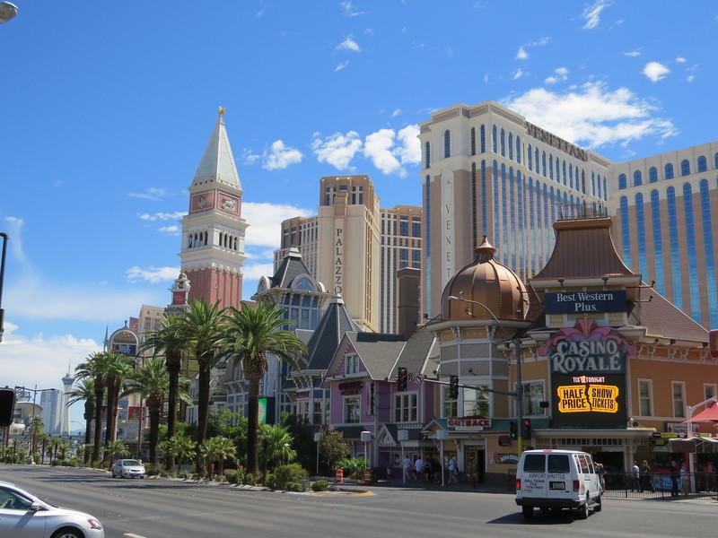 Las Vegas Blvd - Venetian and Palazzo
