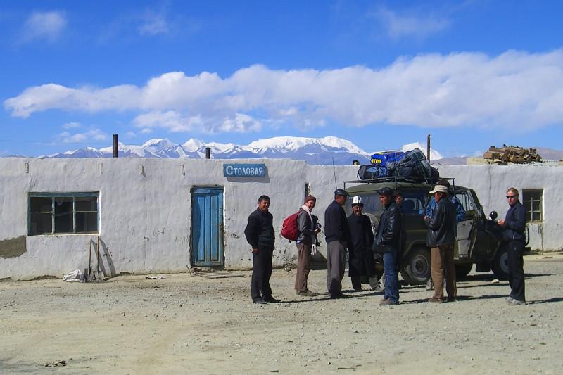 Road Trip Rest Stop - Murghab, Tajikistan