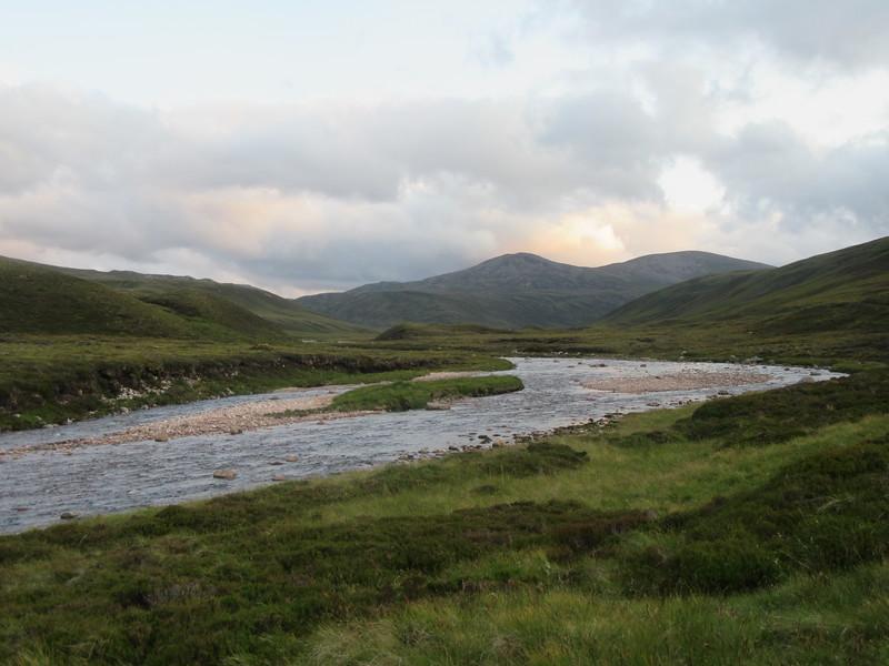 River Avon near Faindouran Lodge