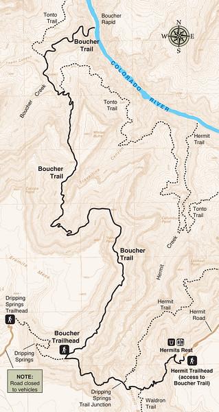 Grand Canyon National Park (Boucher Trail)