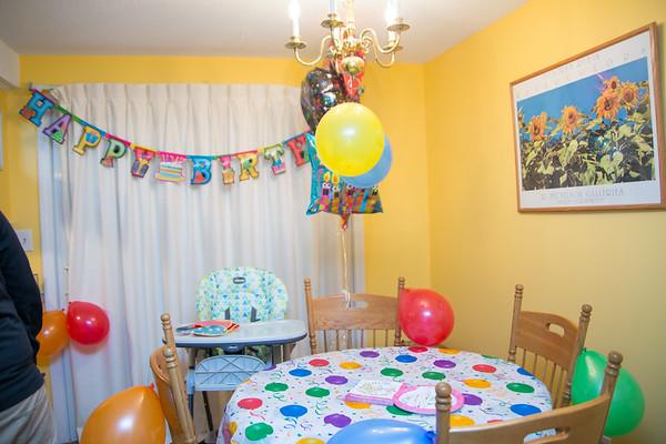Vasya's 1st Birthday