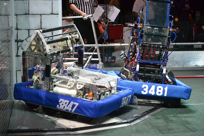 2016 FIRST Bayou Regional Robotics - Spectrum 3847 - 830