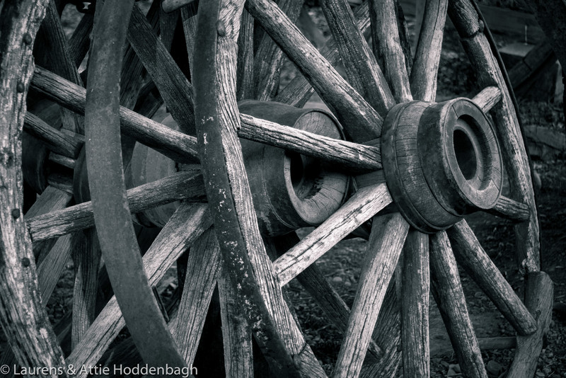 Wheels in Eureka, Montana, Old Village