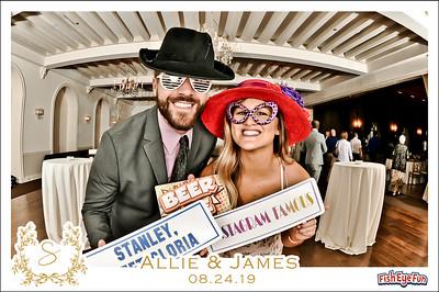 8/24/19 - Allie & James