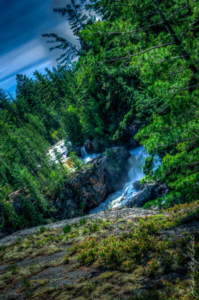 Lady Evelyn River's Helen Falls
