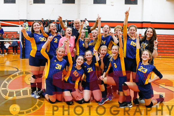 10-27-16 BMS vs WIMS Volleyball County Championship