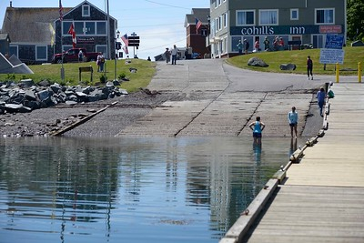 After the race, Water Street, Lubec