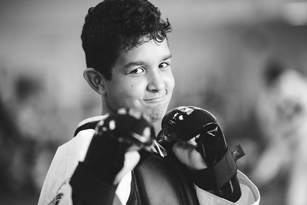 Santi's 1st Black Belt