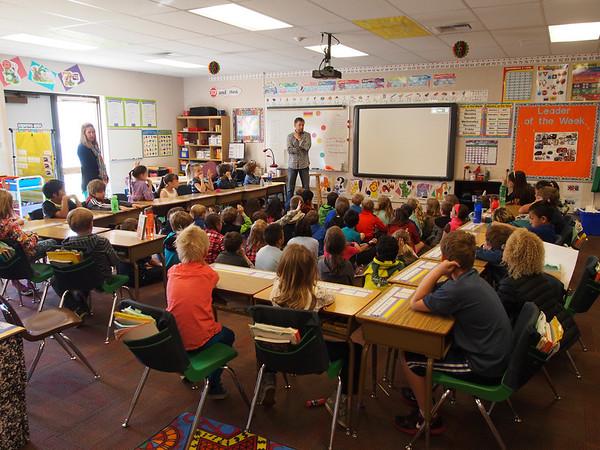 Classroom Presentation by CRG