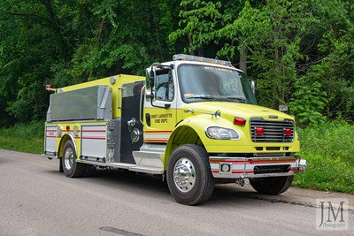 06-09-21 West Lafayette FD - Car Fire
