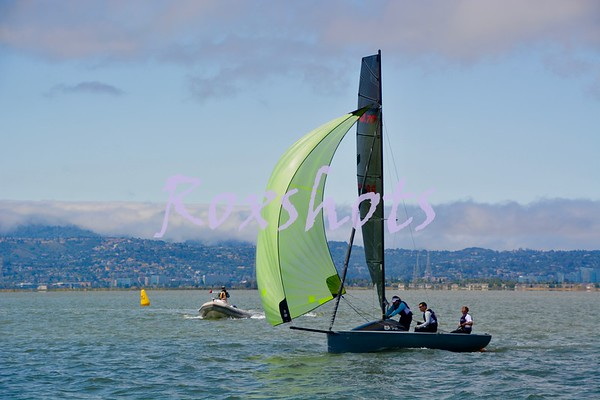 Day #2 of the U.S. Sailing Chubb Area G Championship at PYSF with Forrest as the PRO